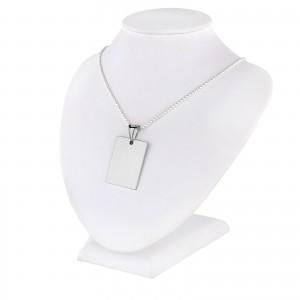 prezent dla kobiety nieśmiertelnik srebrny z dedykacją
