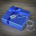 srebrny nieśmiertelnik na prezent