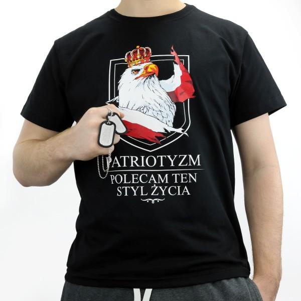 Zestaw koszulka Patriotyzm z nieśmiertelnikiem i grawer